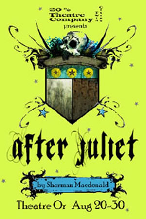 Postcard artwork from After Juliet